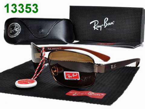 solde lunette ray ban homme