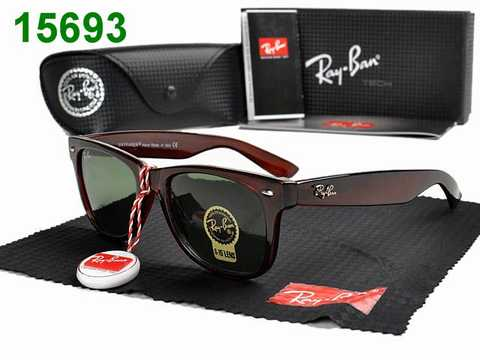 lunettes ray ban moins cher