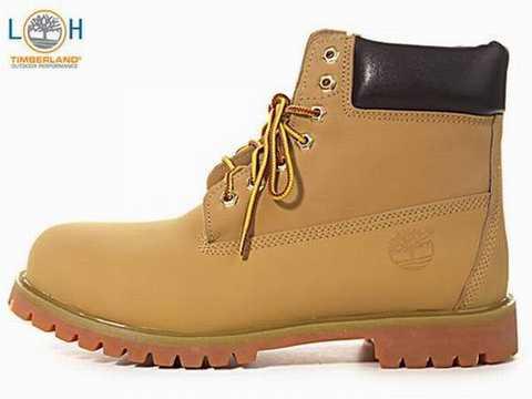 chaussure imitation timberland homme
